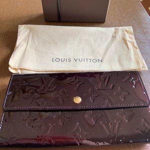 Patent Leather Louis Vuitton Wallet